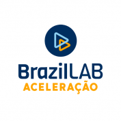 Logomarca programa de aceleração BrazilLAB